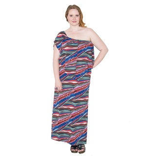 Sealed with a Kiss Women's Plus Size 'Annabelle' Multi Wear Dress