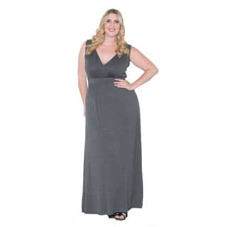Sealed with a Kiss Women's Plus Size 'Bonnie' Maxi Dress|https://ak1.ostkcdn.com/images/products/10627279/P17696734.jpg?impolicy=medium