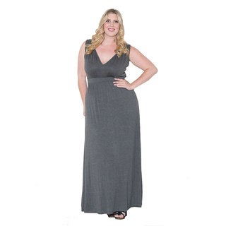 Sealed with a Kiss Women's Plus Size 'Bonnie' Maxi Dress