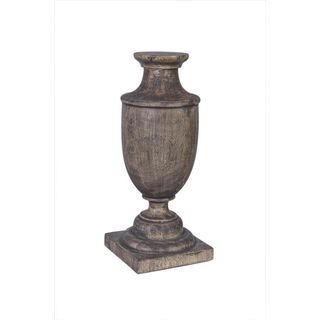 Carlyss Black Wash Wooden Standing Décor