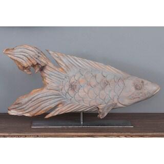 Erwinville Decorative Wooden Fish Décor