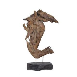 Bastrop Wooden Seahorse Décor
