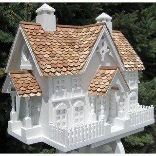 Wrension White Birdhouse