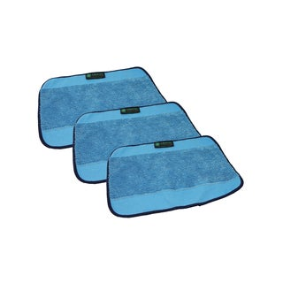 3 Crucial Vacuum Microfiber Mop Pads Fit iRobot Mint Braava 380t