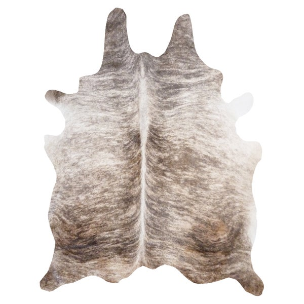 Amazing Light Brindle Cowhide Rug (6u0026#x27; ...