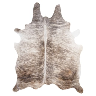 Light Brindle Cowhide Rug (6' x 7')