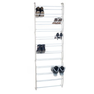 Windsor Home Over the Door Shoe Rack Organizer - Fits 36 Shoes