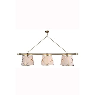 Fairmount Collection 1408 Pendant lamp with Burnished Brass Finish