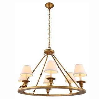 Chester Collection 1402 Pendant lamp with Golden IronFinish