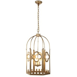 Chalice Collection 1440 Pendant Lamp with Golden Iron Finish