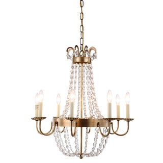 Roma Collection 1433 Pendant Lamp with Burnished Brass Finish