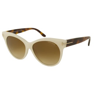 Tom Ford TF0330 Saskia Women's Cat-Eye Sunglasses