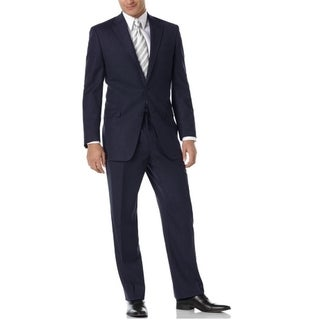 Navy Wool Total Comfort Suit