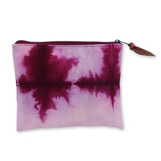 Hand-dyed Cotton 'Jogjakarta Love Story' Clutch Handbag (Indonesia)