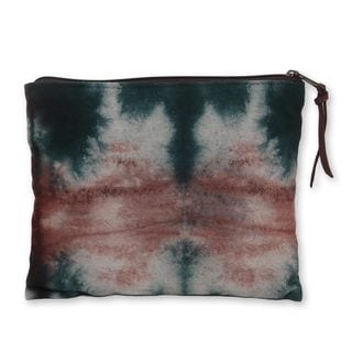 Hand-dyed Cotton 'Island of Java' Clutch Handbag (Indonesia)
