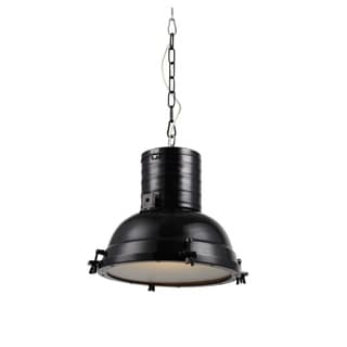 Elegant Lighting Industrial Collection Pendant lamp with Black Finish