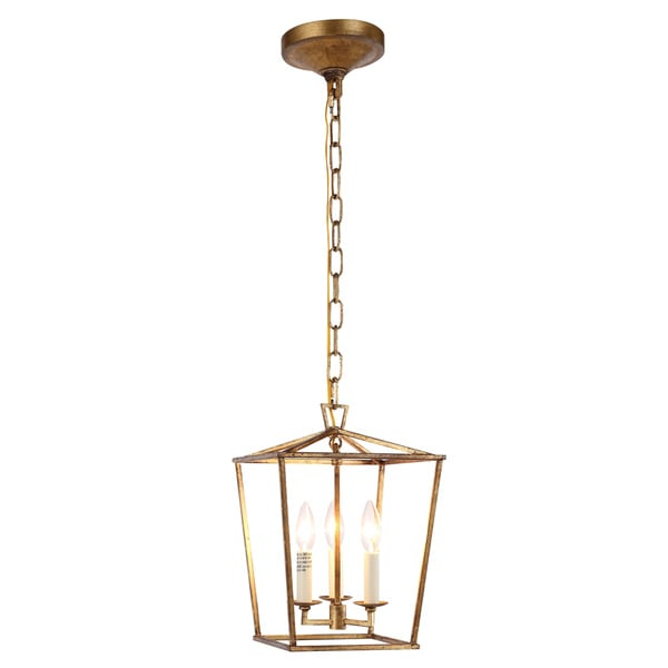 Denmark Collection 1422 Pendant Lamp With Golden Iron