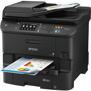 Epson WorkForce Pro WF-6530 Inkjet Multifunction Printer - Color - Pl