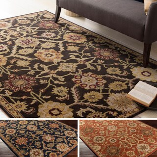Hand-Tufted Dreux Floral Wool Rug (6' x 9')