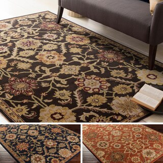 Hand-Tufted Dreux Floral Wool Rug (7'6 x 9'6)