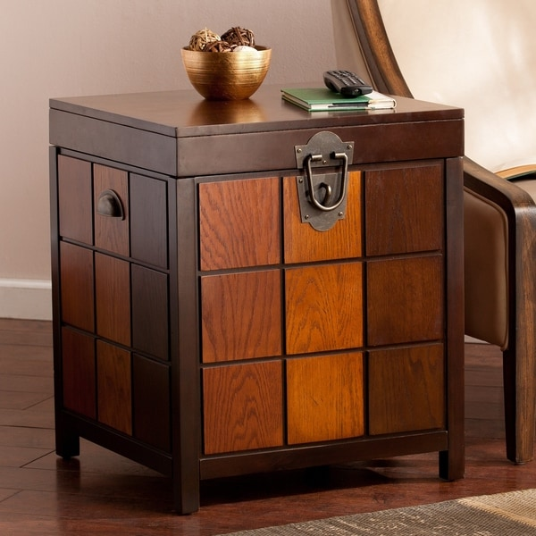 Shop Harper Blvd Huxley Trunk Side End Table On Sale Free