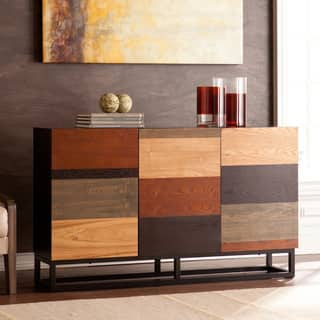 Buffets sideboards china cabinets for less for Furniture of america alton modern multi storage buffet espresso