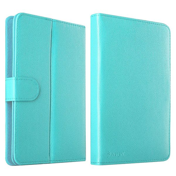 Insten Universal Slim Leather Tablet Case Cover For 7-inch Tab/ Apple iPad Mini 3/ ASUS Google Nexus 7 2012/ 2013/ HP Stream 7