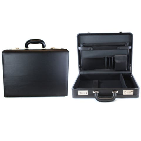 Heritage Travelware 17.3-inch Laptop Attache Business Case With Combination Lock