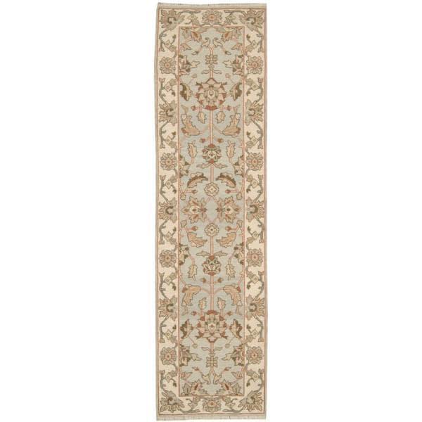 Nourison Suf I Noor Grey Runner Rug (2'6 x 10')