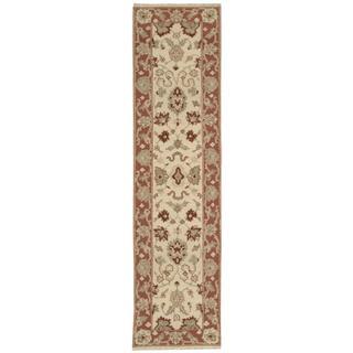 Nourison Suf I Noor Beige Runner Rug (2'6 x 10')