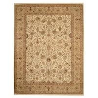 Herat Oriental Indo Hand-knotted Bidjar Wool Rug - 7'9 x 10'
