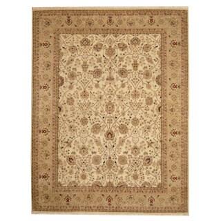 Herat Oriental Indo Hand-knotted Bidjar Wool Rug (7'9 x 10') - 7'9 x 10'