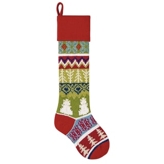 Snowman Knit Stocking
