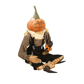 Britches Joe Spencer Gathered Traditions Art Doll - Orange