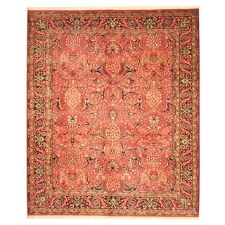 Herat Oriental Indo Hand-knotted Bidjar Wool Rug (7'10 x 9'5)