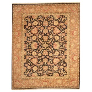 Herat Oriental Indo Hand-knotted Tabriz Wool Rug (8'1 x 10'1)