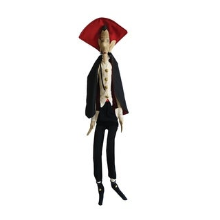 The Count Joe Spencer Gathered Traditions Art Doll - Black