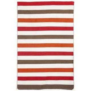 Bold Stripe Outdoor Rug (3'6 x 5'6)