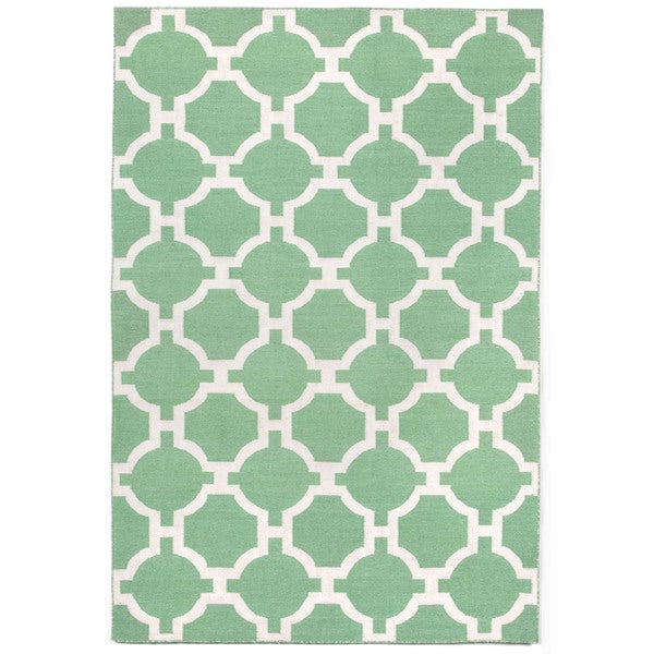 Floor Pattern Outdoor Rug (8'3 x 11'6)