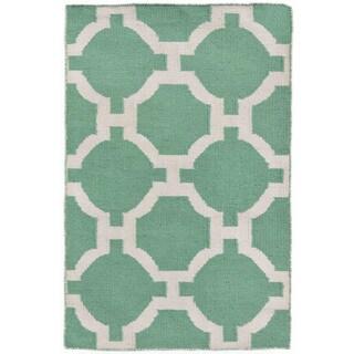 Floor Pattern Outdoor Rug (2' x 3')