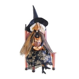 Orma Witch Joe Spencer Gathered Traditions Art Doll - Black
