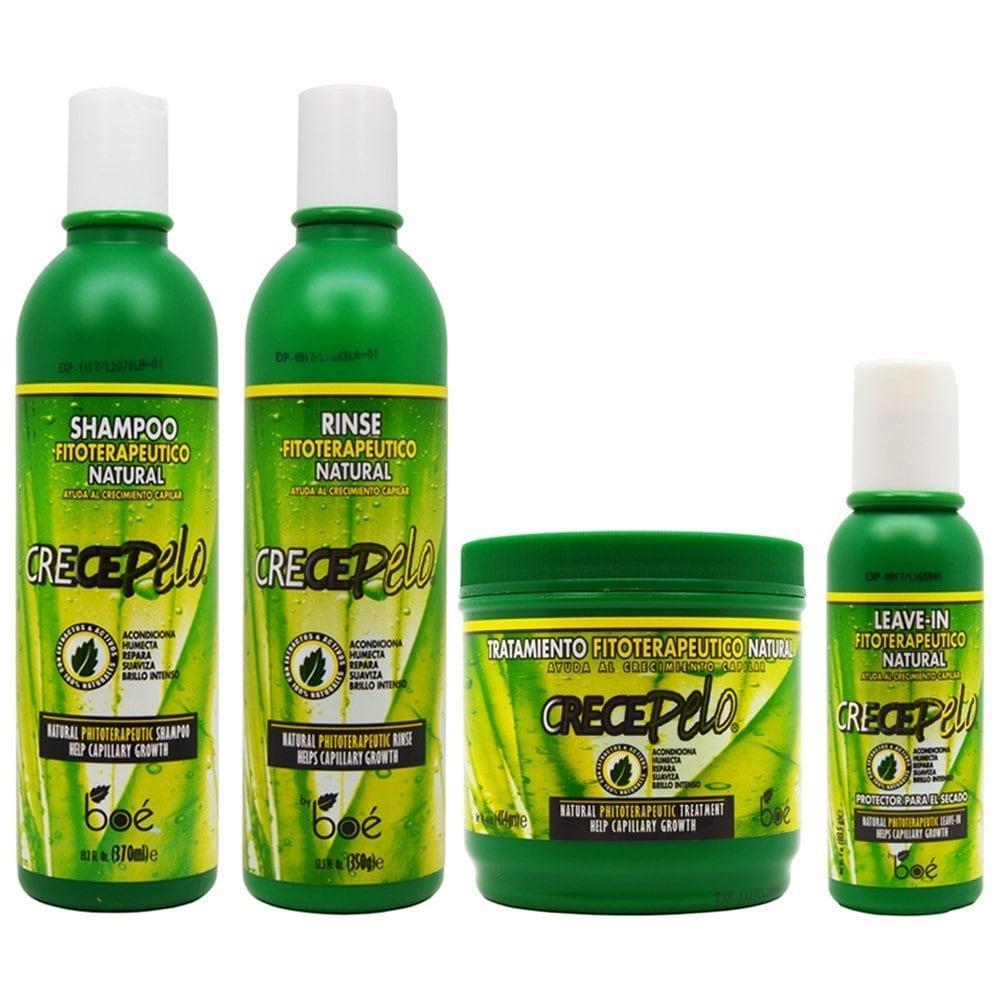 BOE Crece Pelo Fitoterapeutico Natural Shampoo and Rinse ...