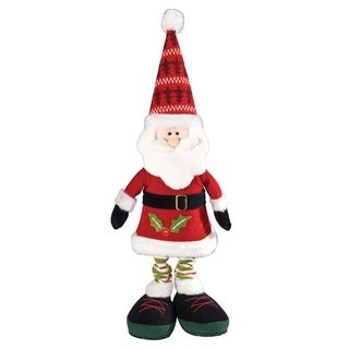 Musical Dancing Santa - Red