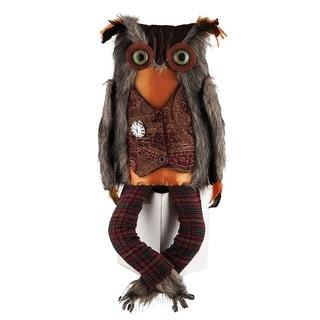 Einstein Owl Figure