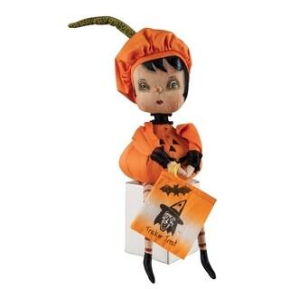 """Christabel"" Pumpkin Girl Figure"