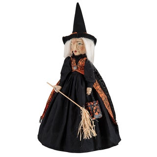 """Millicent"" Witch On Stand Figure"