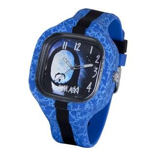 Steve Aoki Square Face Blue Quartz Analog Watch