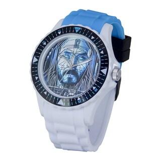Steve Aoki Round Face Black Rage the Night Away Quartz Analog Watch