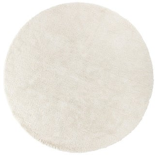 Hand-Woven Bowery Polyester Rug (8' Round)