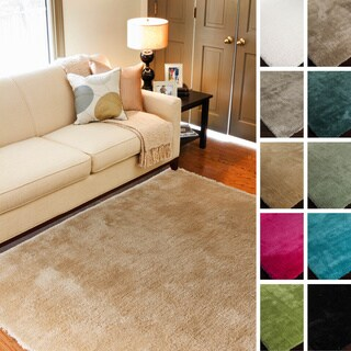 Hand-Woven Bowery Polyester Rug (7'6 x 9'6)